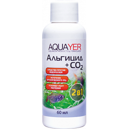 AQUAYER, Альгицид+СО2, 60 mL