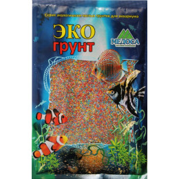 Цветной песок 0,5-1 мм МИКС (блестящий) 3,5 кг  ЭКО ГРУНТ
