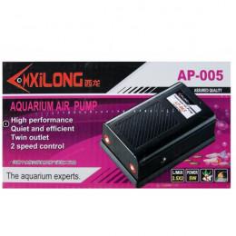 X105 XILONG AP-005 двухканальный компрессор, 5вт