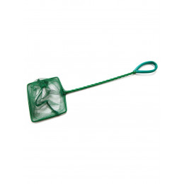 Accessory 028 Аквариумный сачок с зелёной сеткой 10*7,5*25см