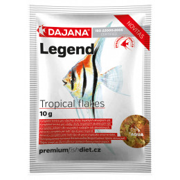 "Корм для рыб Dajana Legend ""Tropical Flakes"" (хлопья), 80 мл"